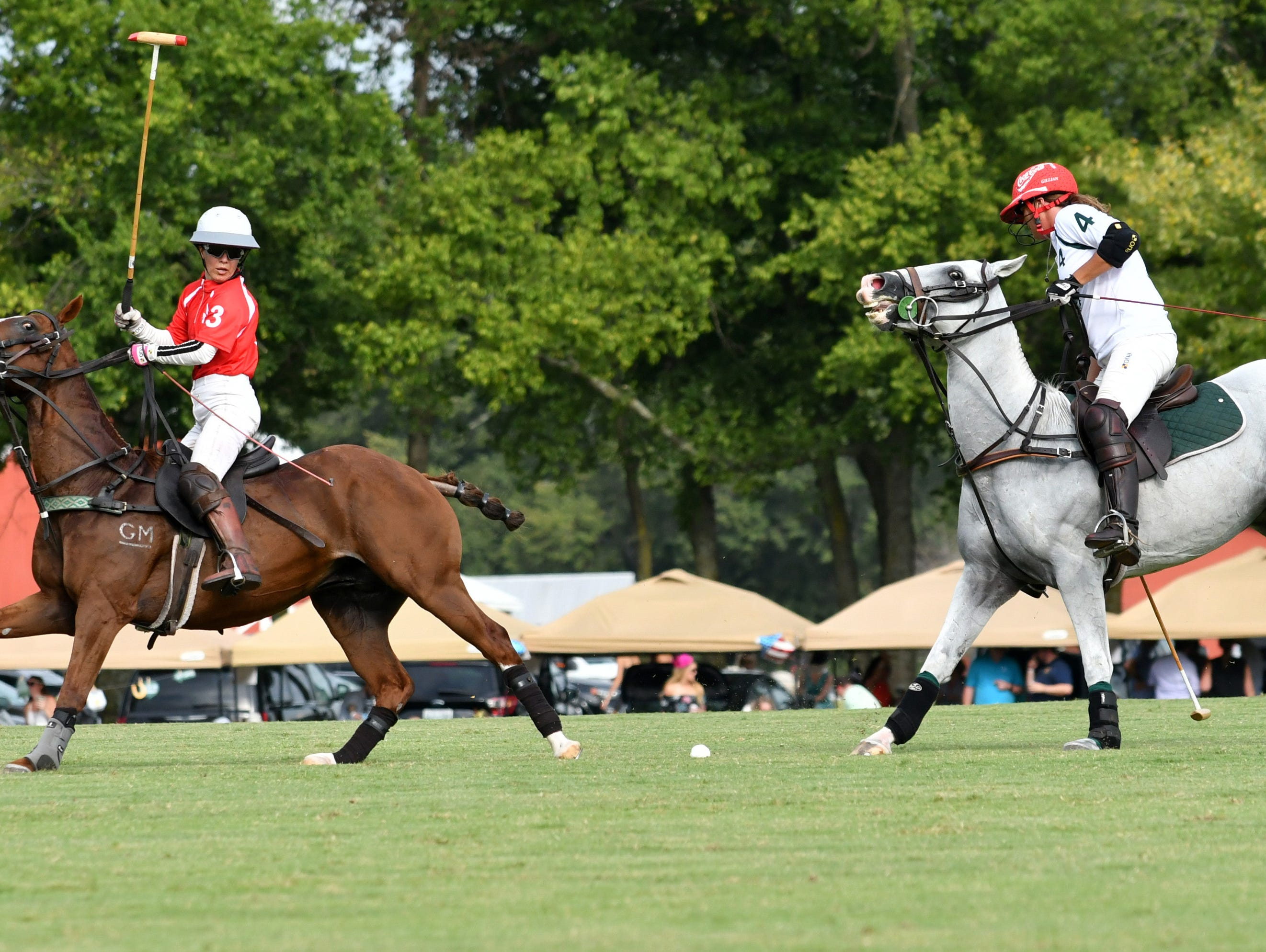 Ironhorse Farms and Colonial Hill Farm Teams compete in Chukkers for Charity 2018.