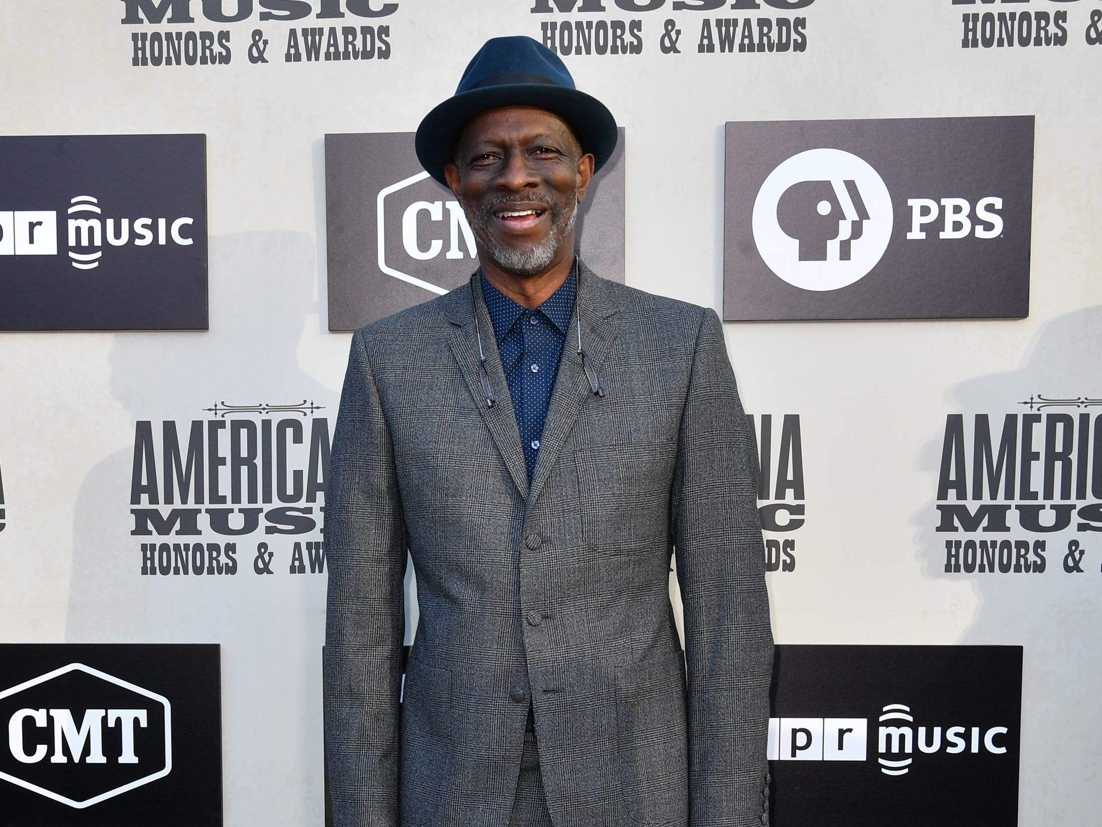 Keb' Mo' poses on the red carpet before the 2018 Americana Honors and Awards show at the Ryman Auditorium in Nashville, Tenn., Wednesday, Sept. 12, 2018.