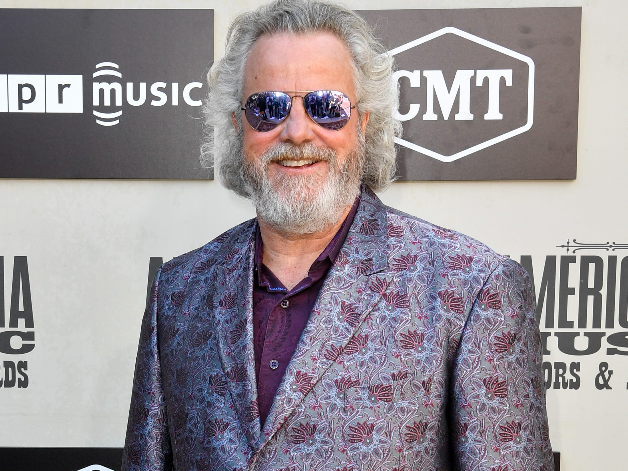 Robert Earl Keen poses on the red carpet before the 2018 Americana Honors and Awards show at the Ryman Auditorium in Nashville, Tenn., Wednesday, Sept. 12, 2018.