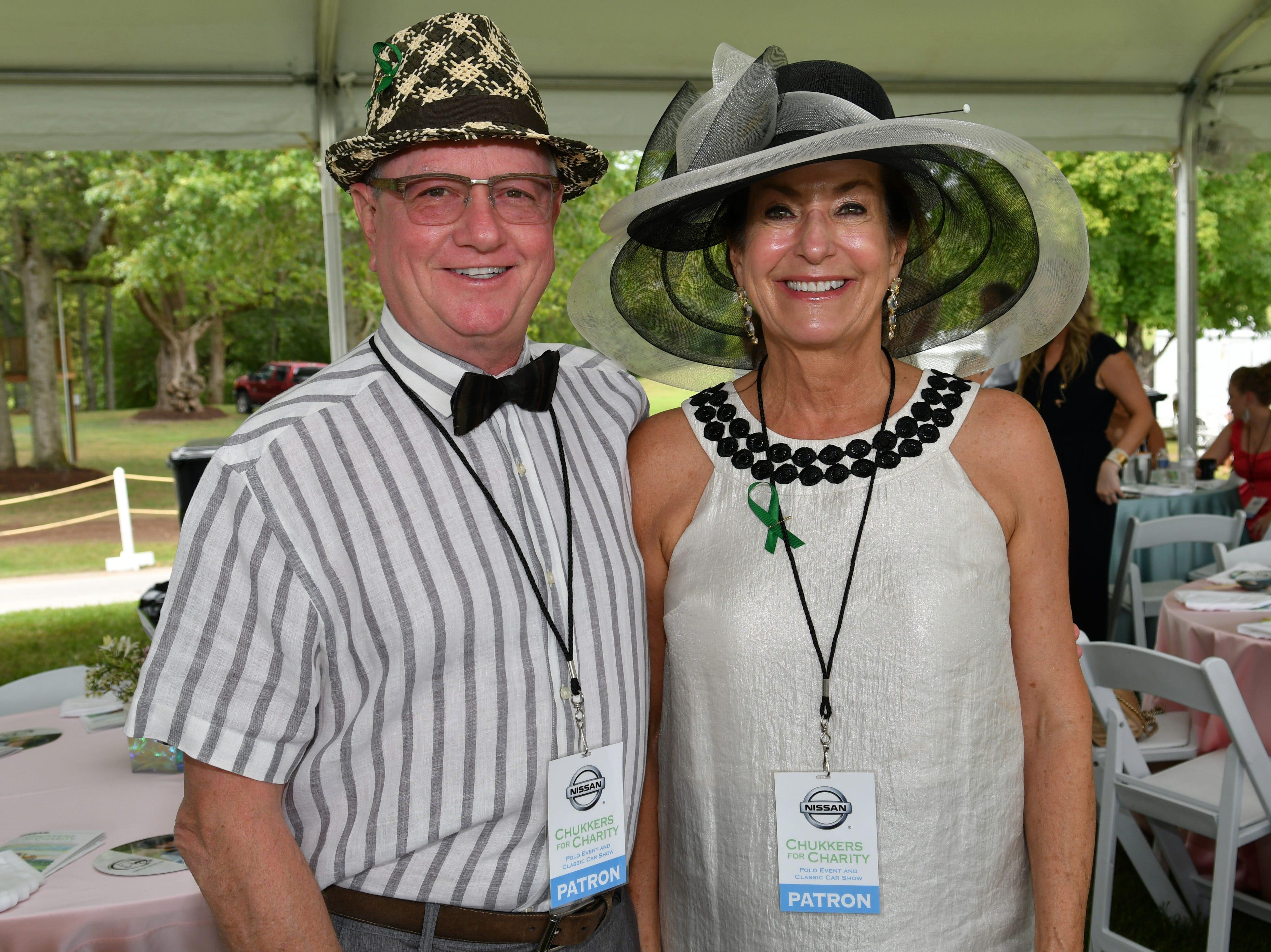 Greg Flittner and Nancy Smith