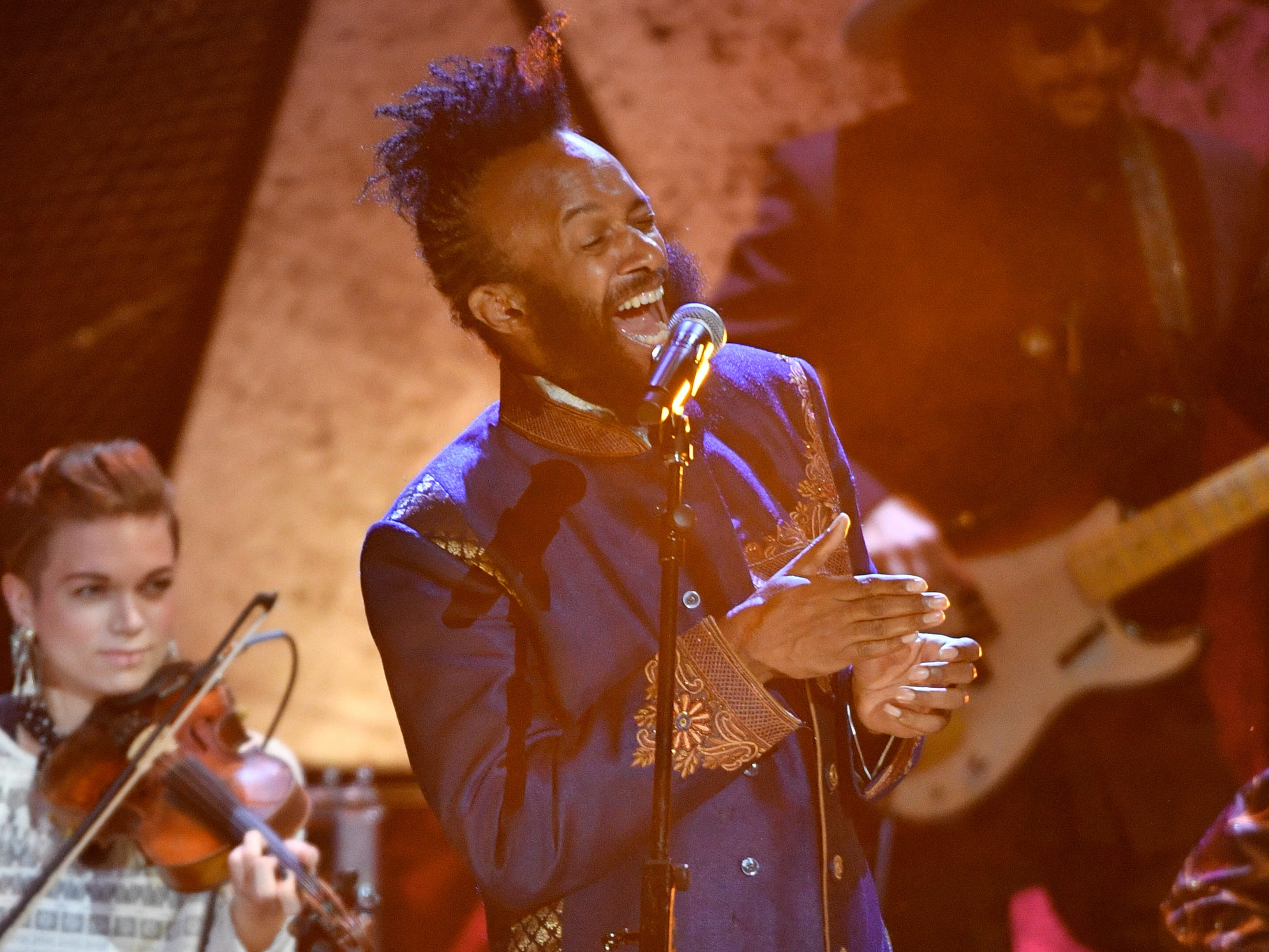 Fantastic Negrito performs during the 2018 Americana Honors and Awards show at the Ryman Auditorium in Nashville, Tenn., Wednesday, Sept. 12, 2018.