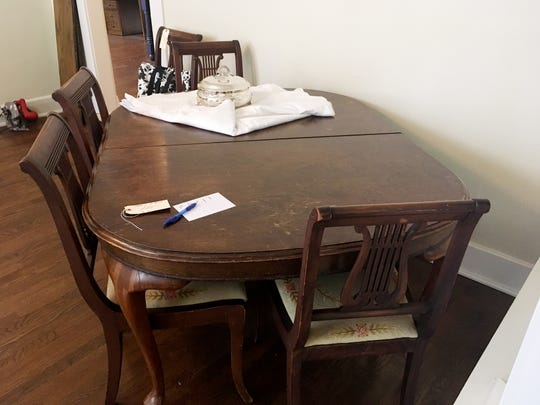 With many new homes not having dining rooms, traditional dining room tables are hard to sell.