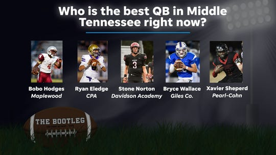Who is the best QB in the area?
