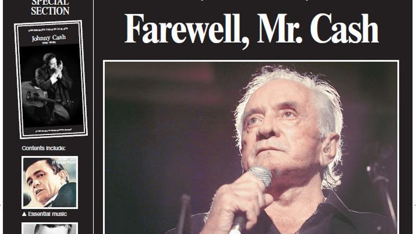 Johnny Cash's death in Nashville: Obituary