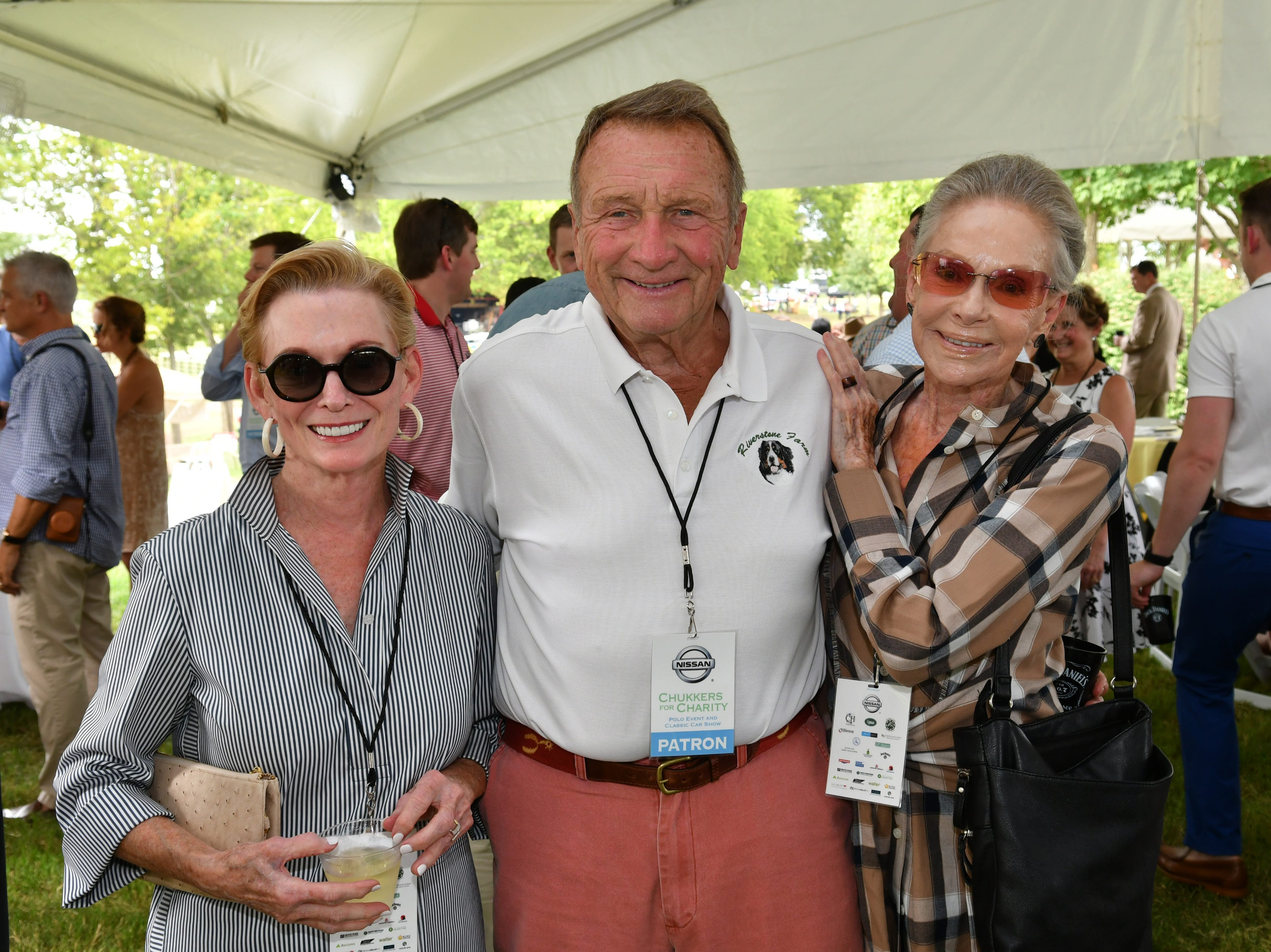 Gwen Bond, Bill Andrews and Clare Armistead