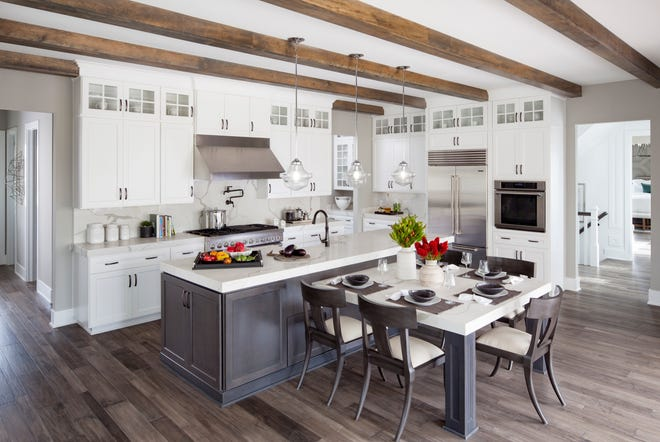 The Windermere model features many of the home amenities available from Toll Brothers.