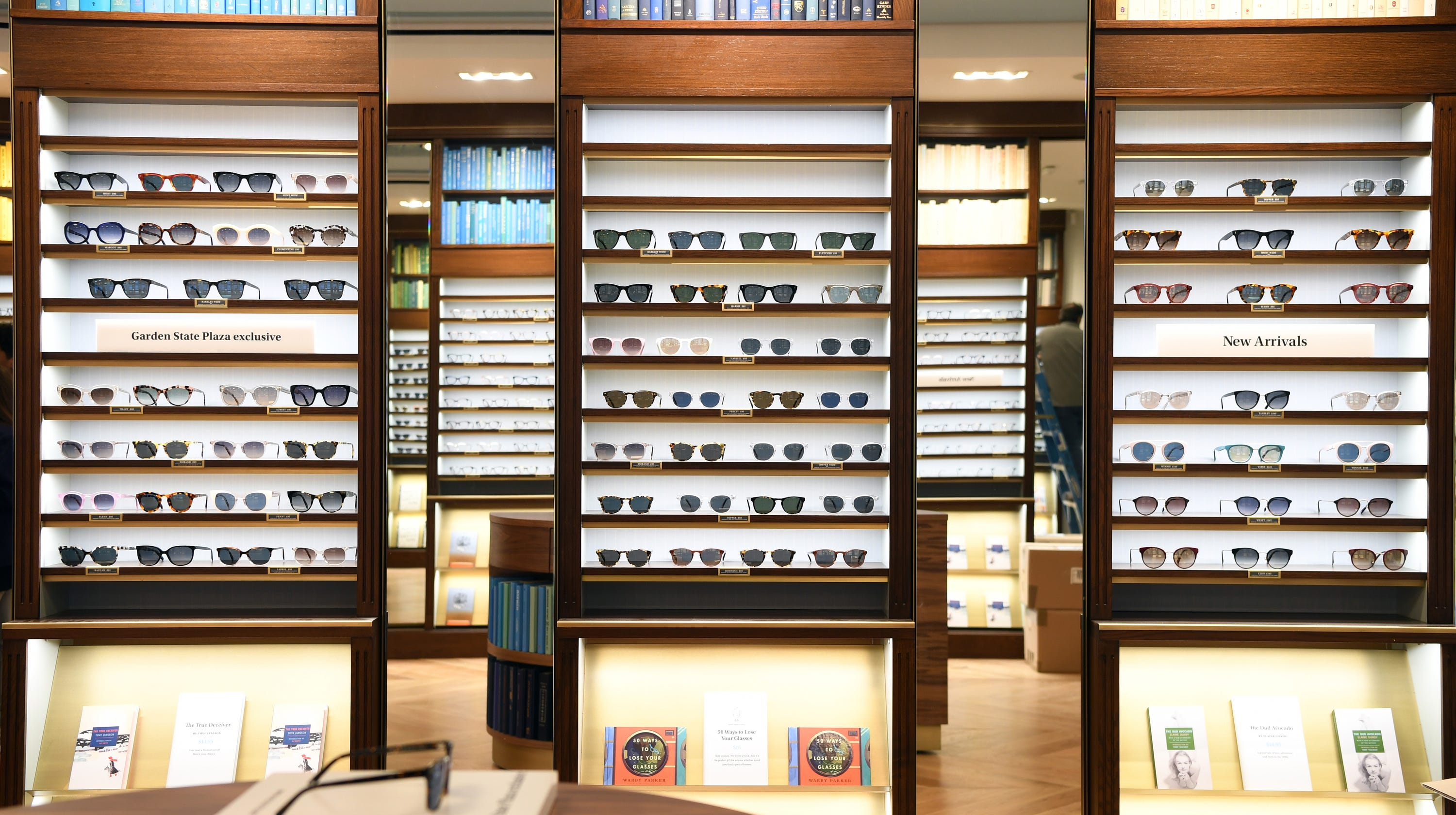 55d5e87def Take a sneak peek at Warby Parker s first New Jersey store