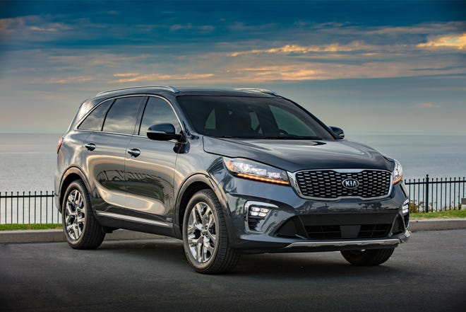The 2019 Kia Sorento enjoys numerous exterior and interior enhancements to achieve a more refined and sophisticated look.