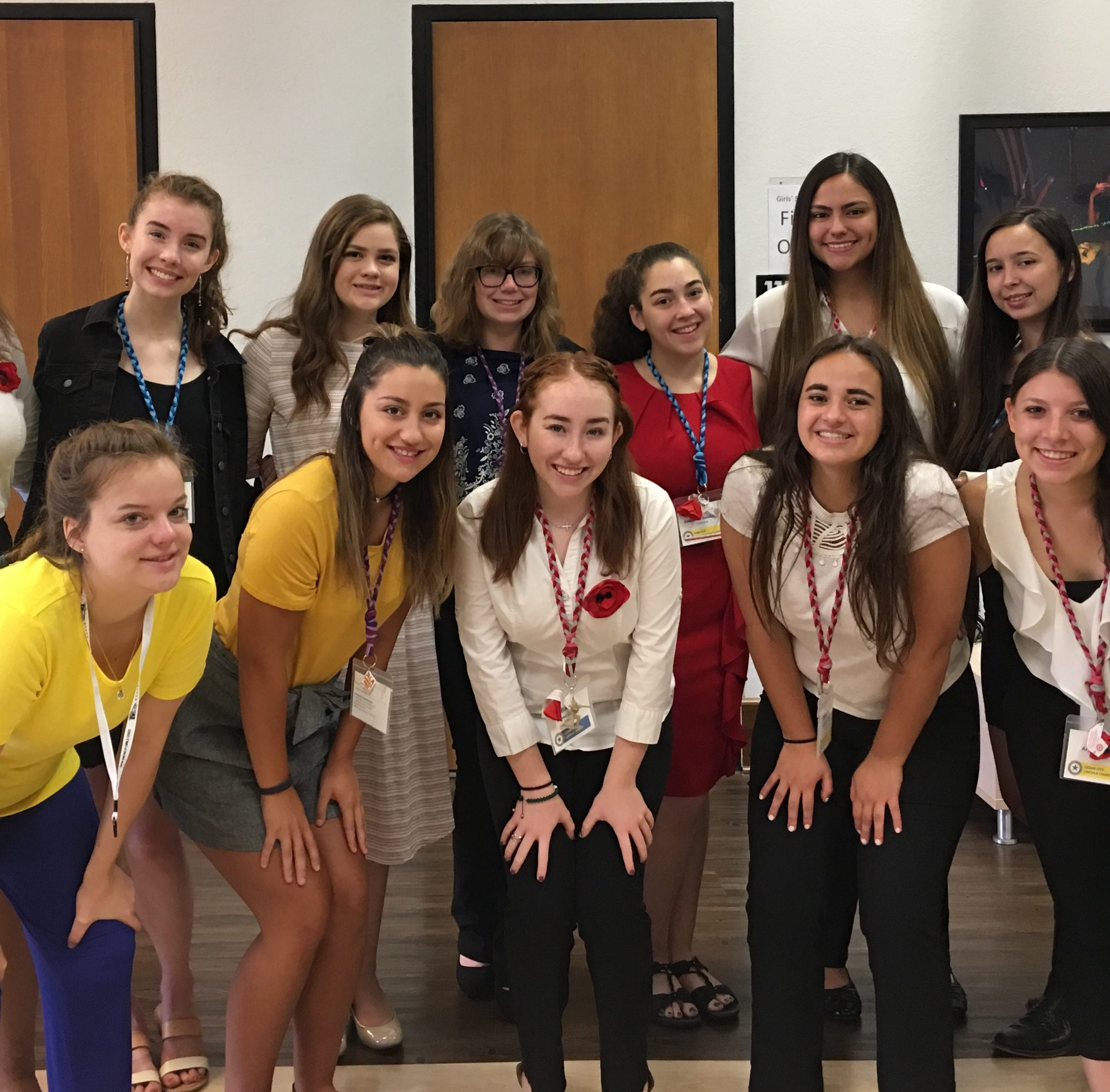 American Legion Auxiliary Unit 10 sponsors 14 students to attend NM Girls State program