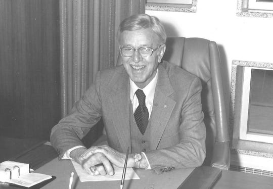 Denny Moore served as the Foundation's first board president.