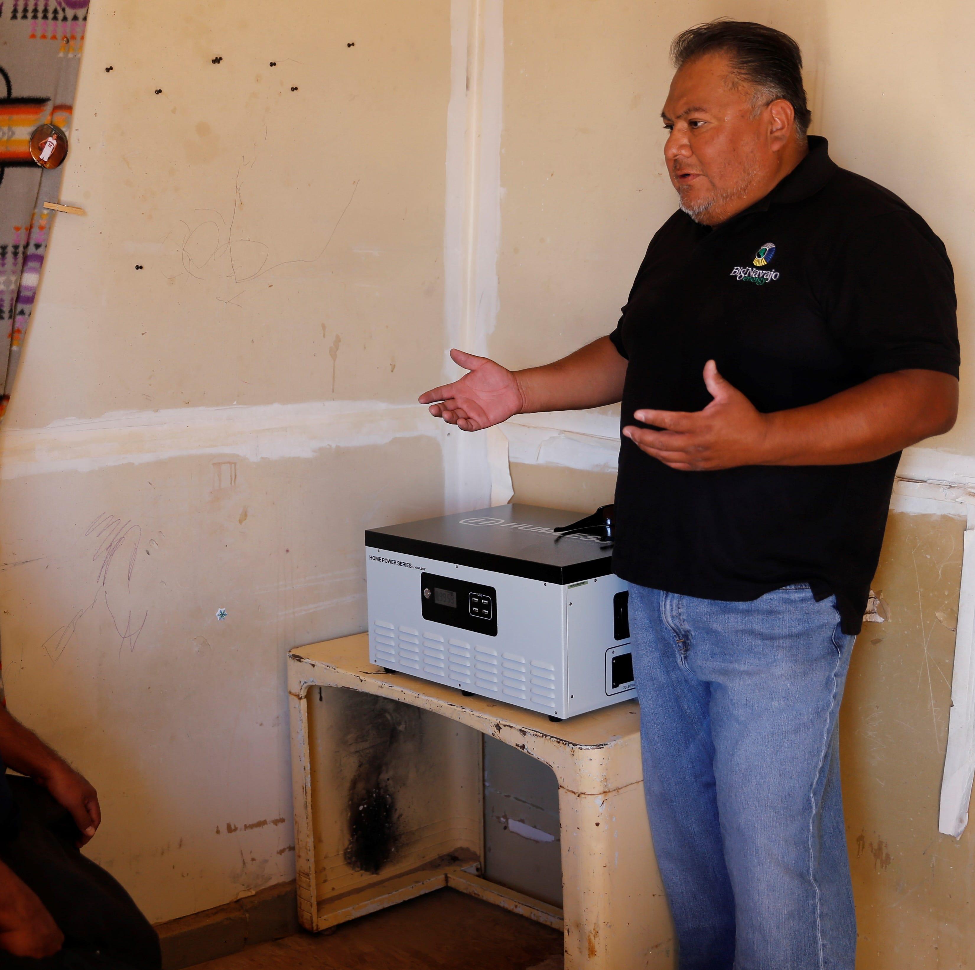 Navajo-owned company provides solar power to Sanostee family