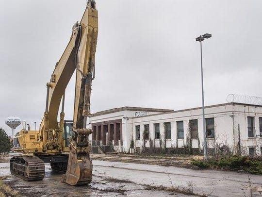The now-demolished former Detroit House of Corrections buildings have made way for the emerging technology corridor along Five Mile Road.