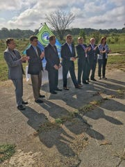 Progress is being made after state, county and local officials last year stood on the former Detroit House of Corrections site on Five Mile Road, which is an emerging technology corridor.