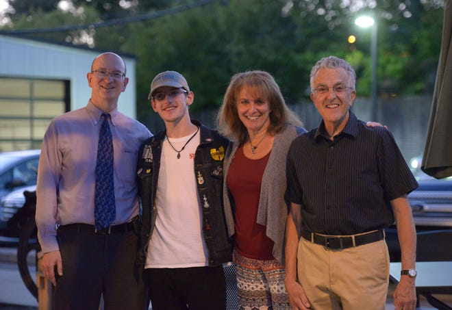 Paul Fine, Zach Antonelli, Leah Juarez, Michael Soranno and (not pictured) Phil Allmen will share their stories at the Village Workshop in Northville on Sept. 20.