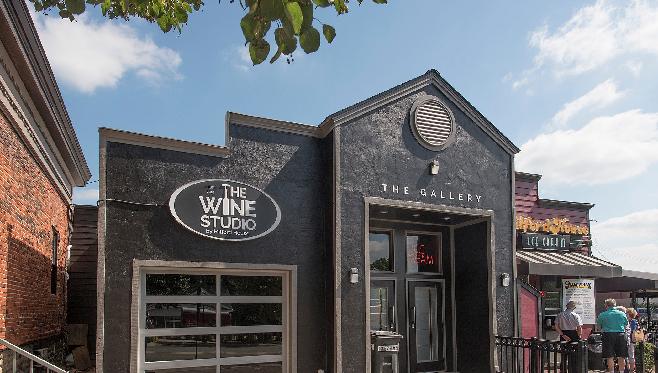The Wine Studio is almost ready for business.