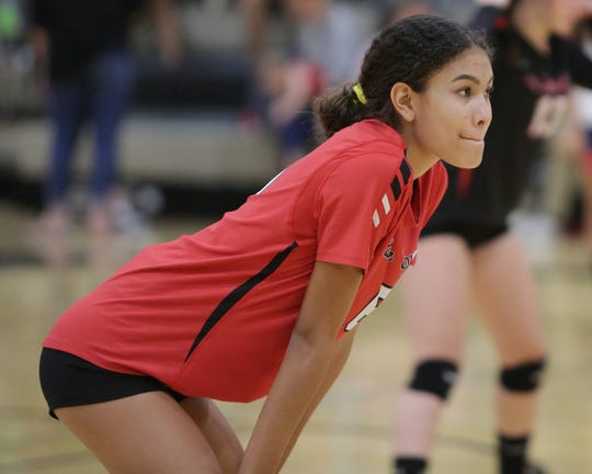 The Xavier Prep varsity volleyball team won Tuesday's home conference match against Palm Springs (CA) by a score of 3-1.