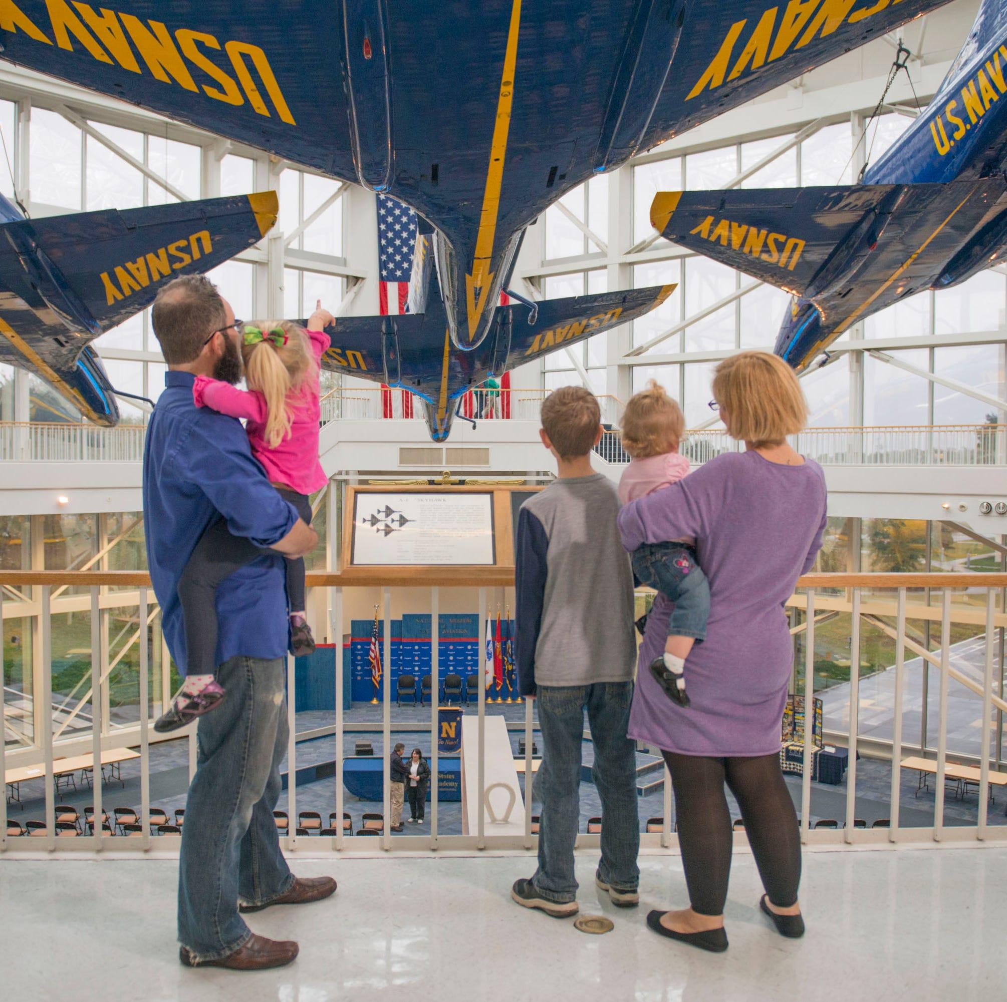 TripAdvisor names National Naval Aviation Museum in top 25 list among Smithsonian