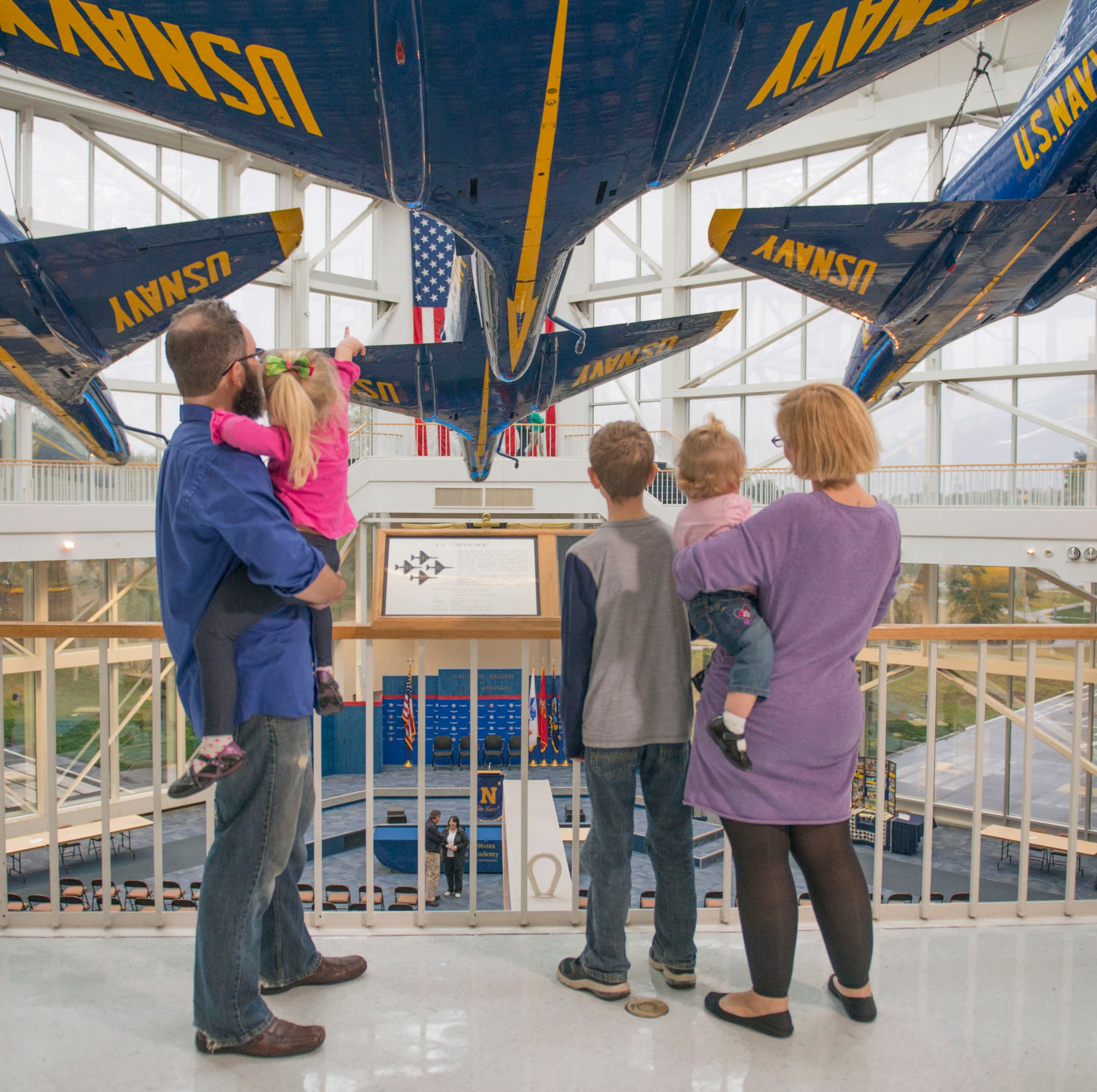 TripAdvisor names National Naval Aviation Museum in top 25 list among Smithsonian