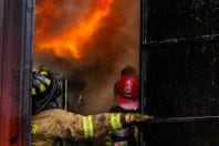 Watch: Go inside a flashover simulator with Hanover firefighters