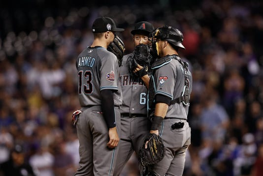 Mlb Arizona Diamondbacks At Colorado Rockies
