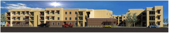 Rendering of Heritage at Surprise, an affordable housing complex planned for opening in spring 2020.