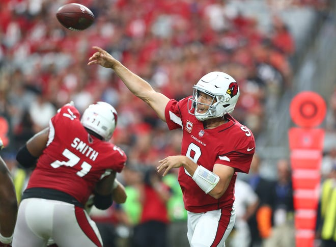 Quarterback Sam Bradford and the. Arizona Cardinals are facing some pressure after a rough start to the season.
