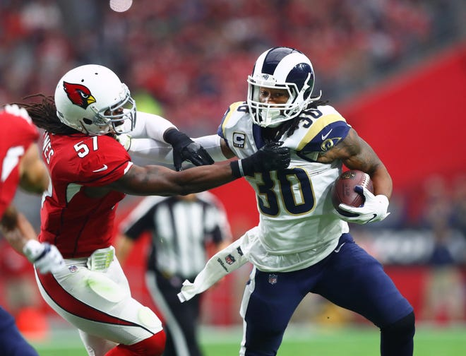 Can the Arizona Cardinals contain Los Angeles Rams running back Todd Gurley in Week 2 of the NFL season? We are going to find out.