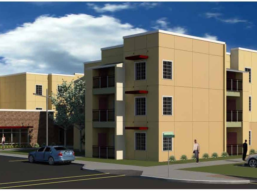 Rendering of Heritage at Surprise, an affordable housing complex planned for spring 2020 opening.