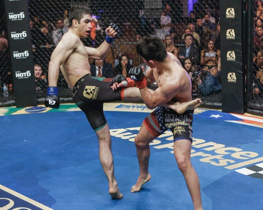 Jose Alday vs John Castenada Combate Americas fight on April 13