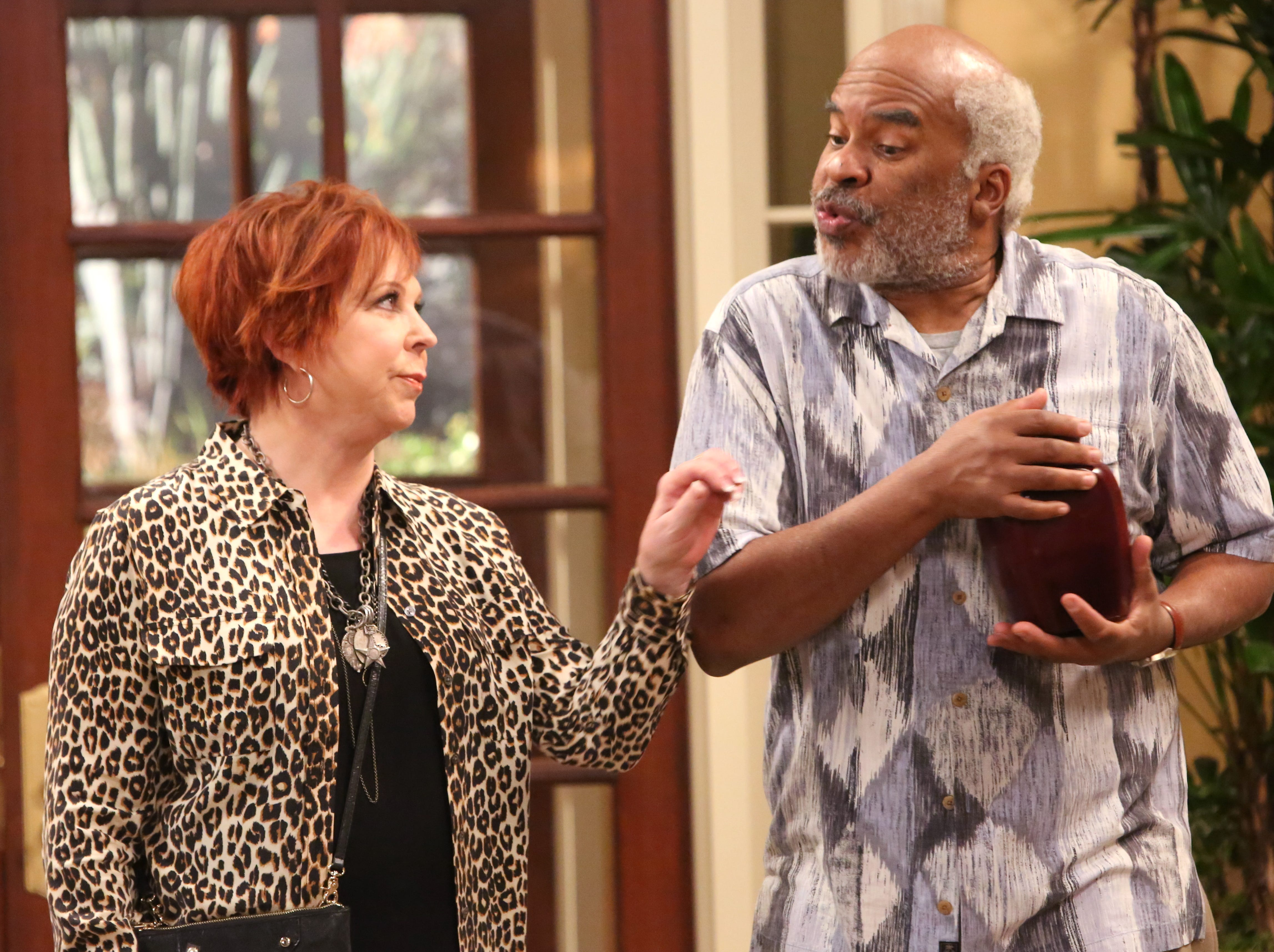 "Vicki Lawrence and David Alan Grier star in ""The Cool Kids."""