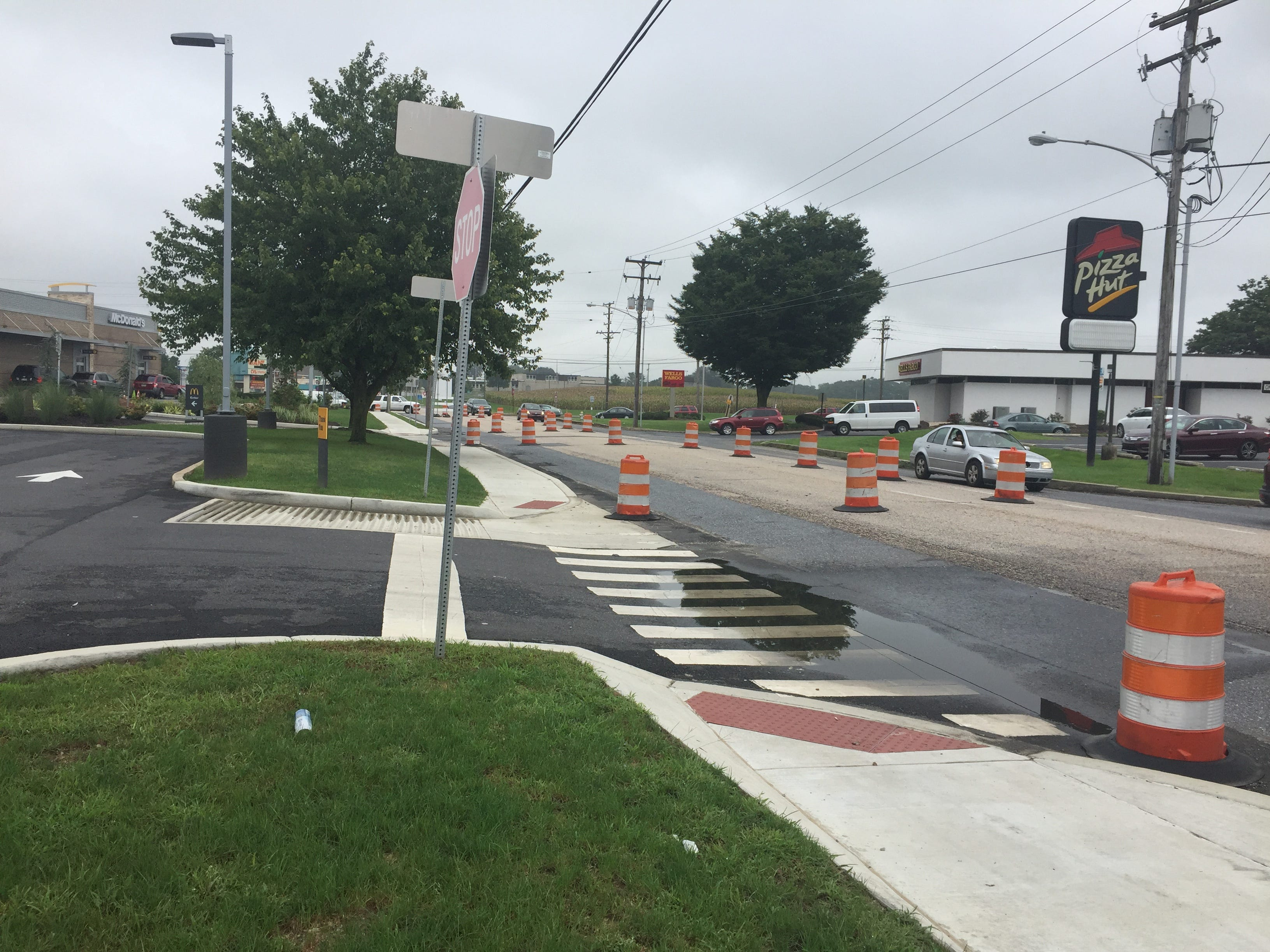 Road construction continues on E. Cumberland Street in Lebanon on Wednesday, Sept. 12, 2018. PennDOT hopes to reopen both lanes of Cumberland Street by the end of the year, but construction still won't be complete.