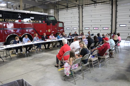 Port Clinton City Council held their regular meeting Tuesday at a special location, the Port Clinton Fire Department, as they hosted representatives from sister city Jamao al Norte in the Dominican Republic.