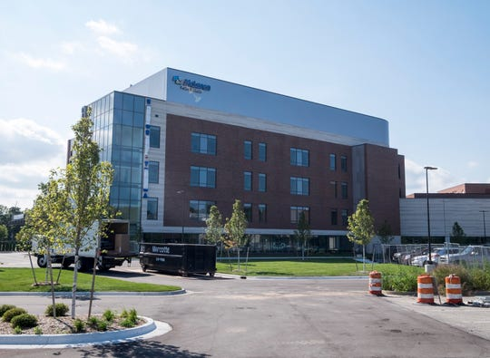 The new south tower at McLaren Port Huron will begin housing patients in October. The building will house the hospital's laboratory, a 35 bed emergency room with 12 rooms for observation, an 18 bed intensive care unit, surgical suites and private patient rooms.
