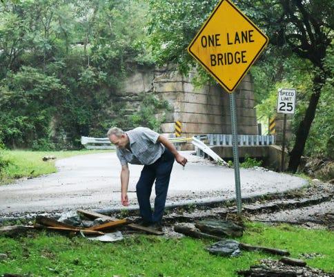 Walker Road Hazard