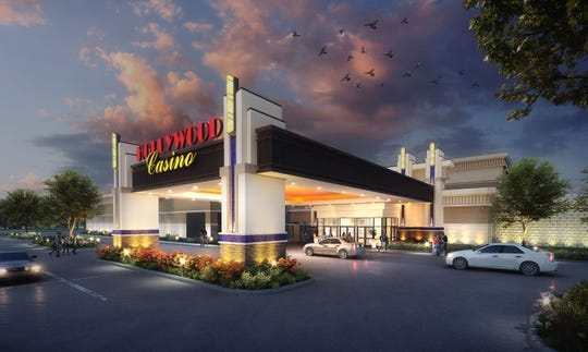 "Penn National Gaming submitted its application to the Pennsylvania Gaming Control Board, including a rending of the proposed ""Hollywood Casino York."""