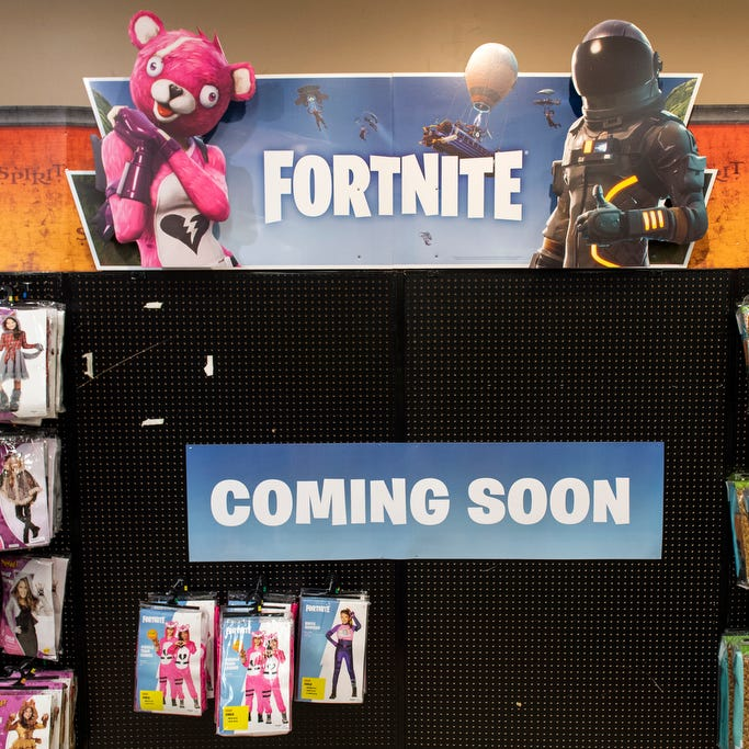 Fortnite seizes control of 2018 Halloween trends ... but keep an eye out for clowns, too!