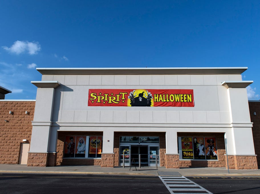 Spirit Halloween store, in the Delco Plaza off Route 74, Wednesday, September 5, 2018.