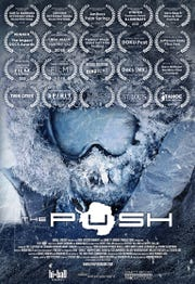 "Movie poster for ""The Push,"" the story of a Reno man's journey after a spinal cord injury."