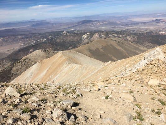 Boundary Peak ridge