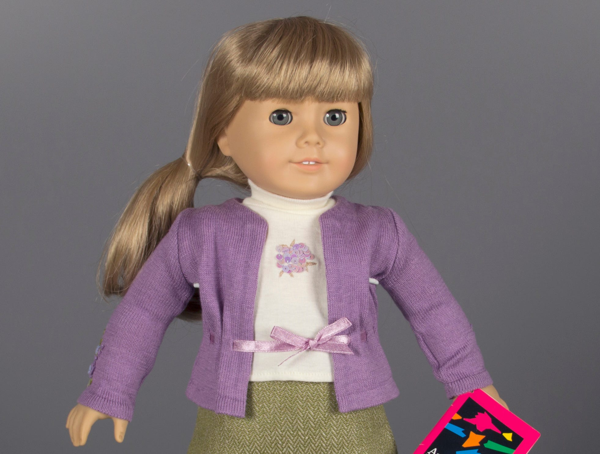 The American Girl doll.