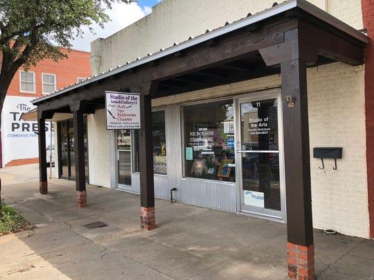 Priscilla Nicholson Studio of the Arts is located at 11 E. Harris Ave. in San Angelo.