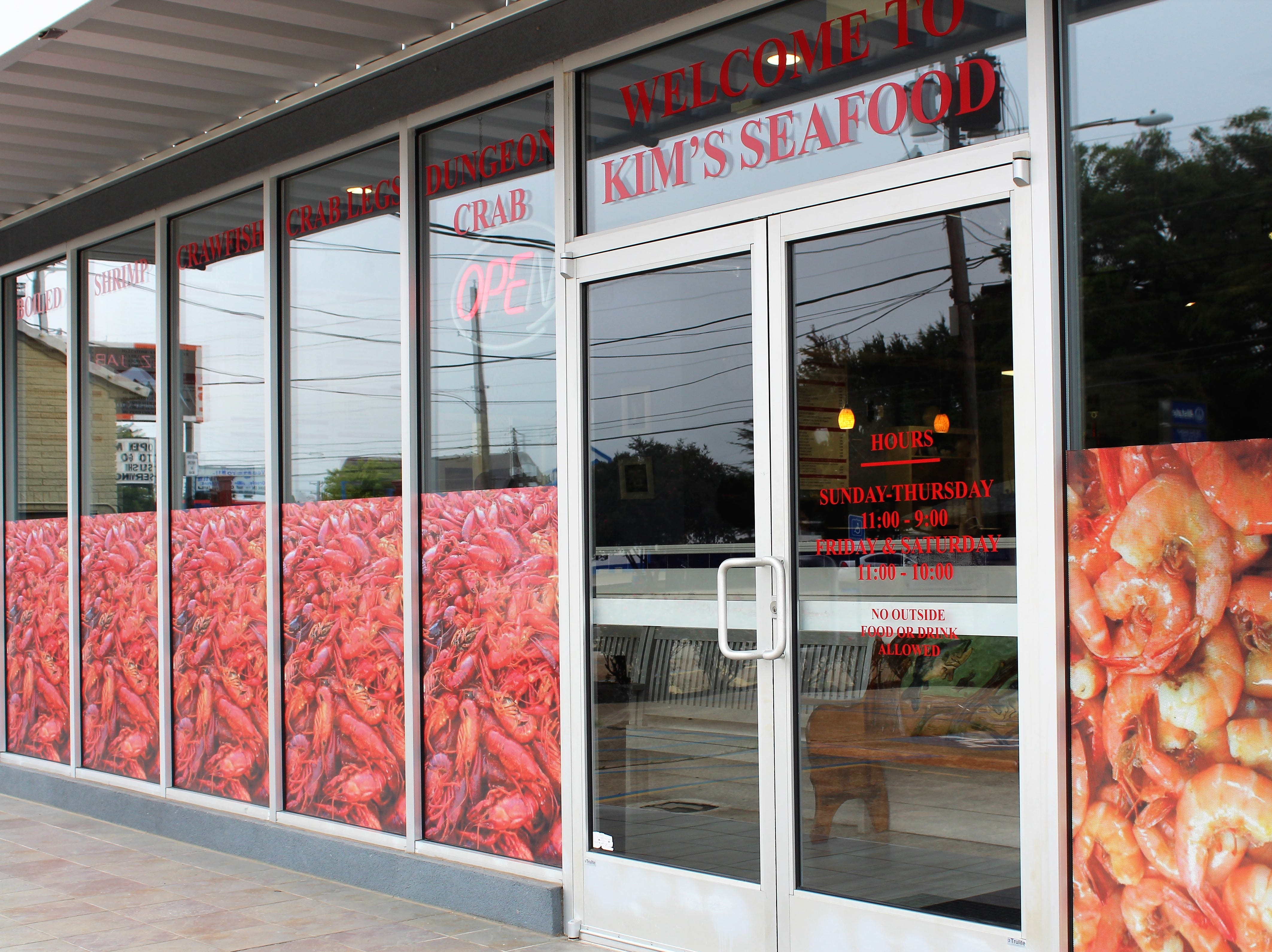 Kim's Seafood opens second location in Shreveport.