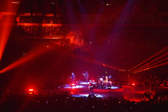 Metallica performs Tuesday, Sept. 11, at the Denny Sanford Premier Center in Sioux Falls.