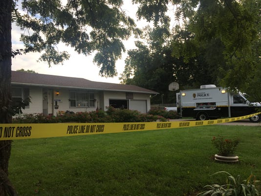 Police have taped off a home in the 3200 block of West Madison Wednesday morning.
