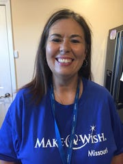 Make A Wish team member Suzi Young