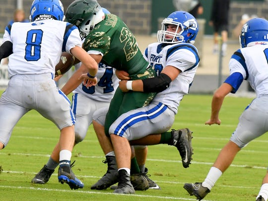 High school sports are scheduled to return in Virginia in December.