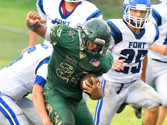 Football teams will have seven dates to play six regular-season games.
