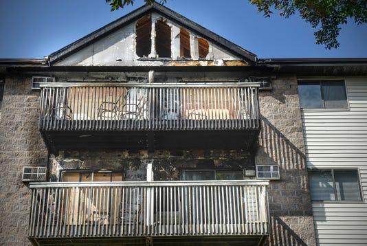 Burnt Apartment 1