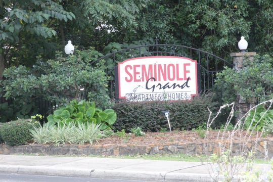 Several shootings have occurred recently at Seminole Grand apartment complex on Tharpe Street