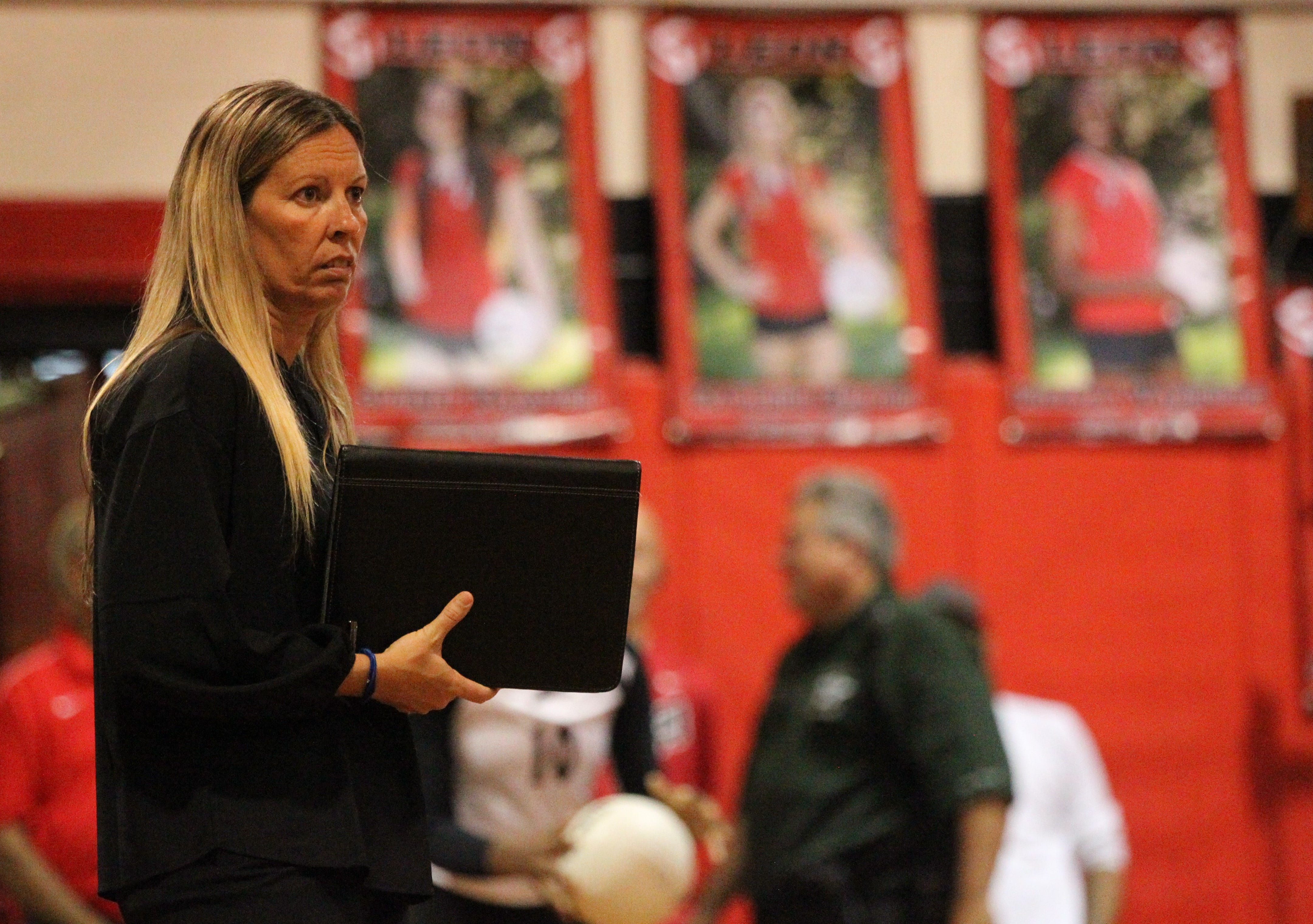 All Big Bend Volleyball Leons Washington Becomes First Four Time